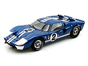 1966 Ford GT40 Mark II 12hrs of Sebring #2 1/18 Blue