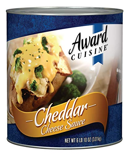 Award Cuisine County Line Cheddar Cheese Sauce, 106 Ounce (Pack of 6)