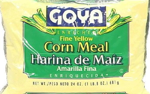 Goya Fine Corn Meal, 24-Ounce (Pack of 12)