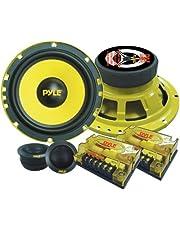 """Pyle PLG6C 16.51 cm (6.5"""") 300 v Sistema Personalizado de Componentes de 2 Vías"""