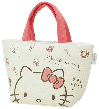 Sanrio Fabric - Sanrio Hello Kitty Plaid Lunch Bag S Sweat fabric KNB1