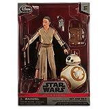 Rey and BB-8 Elite Series Die-Cast Action Figure Set Star Wars Disney Exclusive