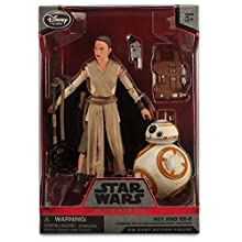 Rey and BB-8 Elite Series Die Cast Action Figures - 6'' - Star Wars: The Force Awakens