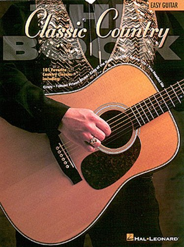 The Classic Country Book (Book (Hal Leonard))