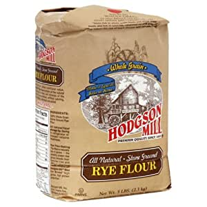 Amazon.com : Hodgson Mill Flour Rye, 5-Pound (Pack of 3