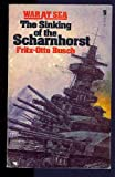 Front cover for the book The sinking of the Scharnhorst by Fritz-Otto Busch