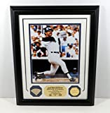 Highland Mint Reggie Jackson Photo with Game Used Bat and Coin Framed DA025130