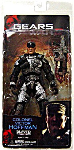 NECA Gears of War 2 Colonel Victor Hoffman Action Figure
