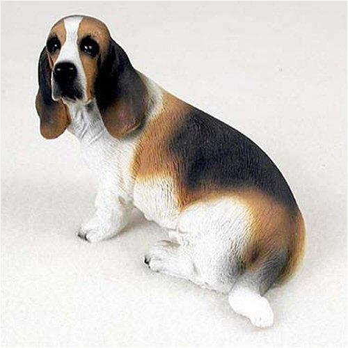 Basset Hound Original Dog Figurine (4in-5in)