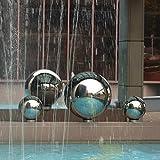 Aneil Stainless Steel Gazing Ball Seamless Mirror