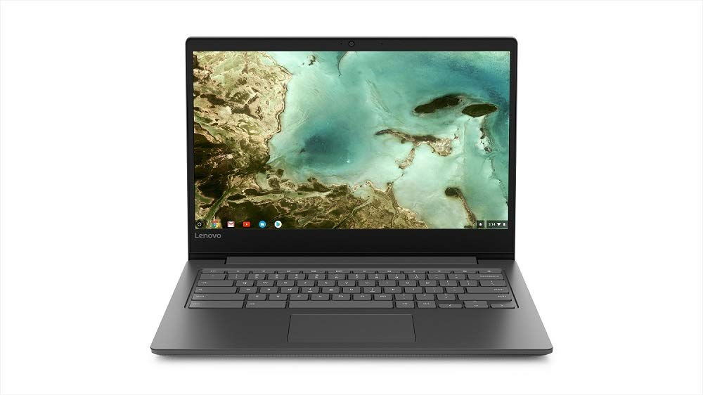 Lenovo Chromebook S330 Laptop, 14-Inch HD (1366 x 768) Display, MediaTek MT8173C Processor, 4GB OnBoard LPDDR3, 32GB eMMC SSD, Chrome OS, 81JW0001US, Black by Lenovo