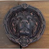 BRASS Accents A07-K5100-613VB 8.375'' Leo Lion Door Knocker, Venetian Bronze Finish