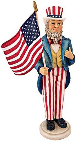 Design Toscano EU31651 Uncle Sam Yankee Doodle Dandy Statue