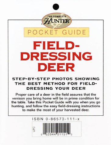 Field-Dressing Deer Pocket Guide (Complete Hunter) -