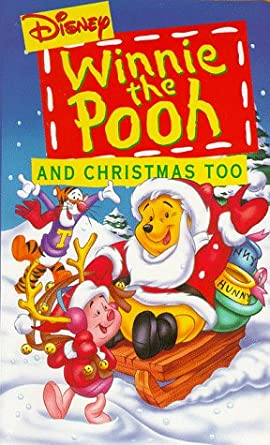 Winnie The Pooh Christmas.Amazon Com Winnie The Pooh And Christmas Too Vhs John