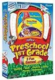 Playzone! Preschool-1st Grade: Curious George Reading & Phonics / Kid Phonics / Jump Start Numbers