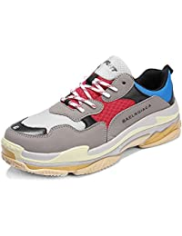 Men's Fashion Sports Shoes Athletic Running Mesh Gym...