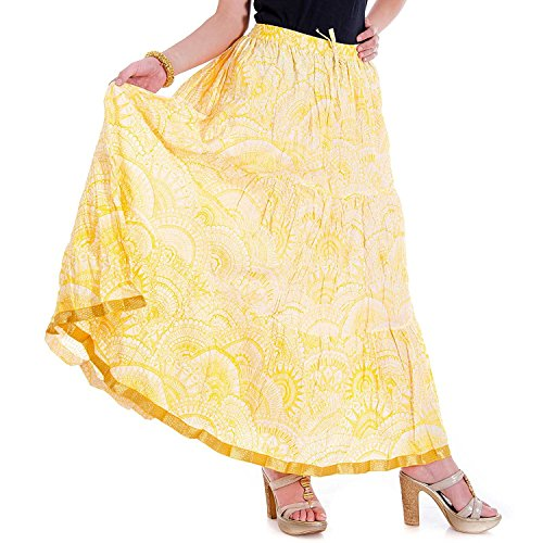 Cotton Size Fit Free Pure Regular Skirts Skirts Skirts Skirts Jaipuri 7a8Xqn47