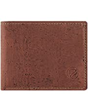 Corkor Cork Wallet for Men Coin Pocket RFID Blocking Vegan Non-leather Eco Gift
