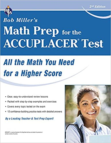 BOB MILLER MATH FOR THE ACCUPLACER PDF