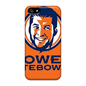 High Quality RobertWood Denver Broncos Skin Cases Covers Specially Designed For Iphone - 5/5s
