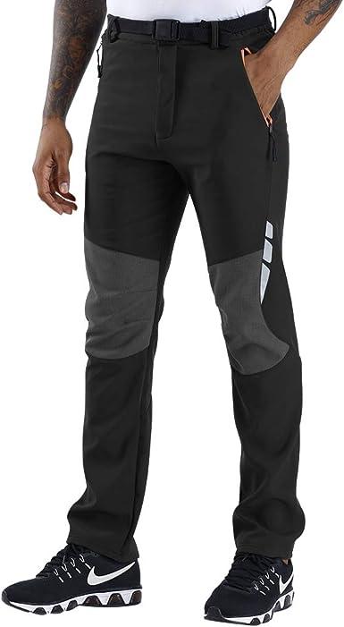 SANMIO Pantalones Aire Libre de Hombre Convertible Pantalones ...
