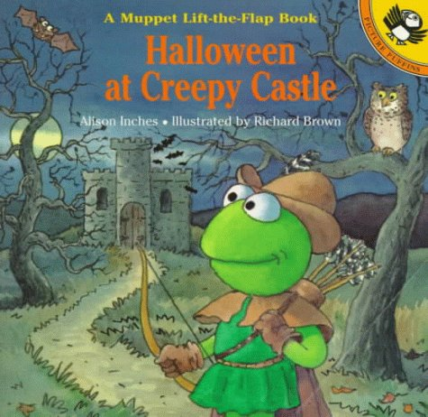 Halloween at Creepy Castle: A Muppet Lift-the-Flap Book (Muppets) ()
