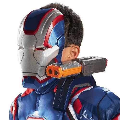Disguise Marvel Iron Man 3 Movie Iron Patriot Shoulder Chain Gun Costume Accessory
