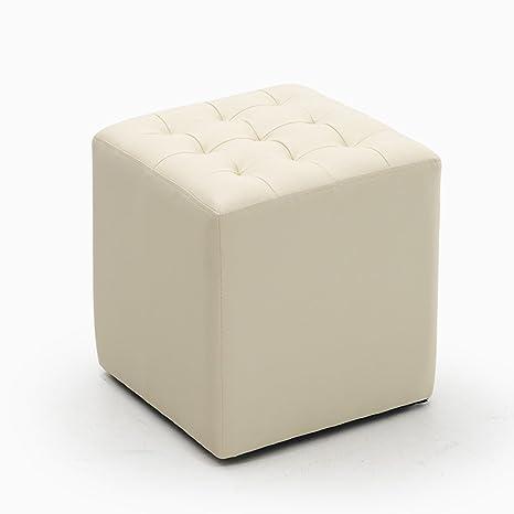 Wooden stool Sgabello per divano in stile europeo, piccolo pouf ...