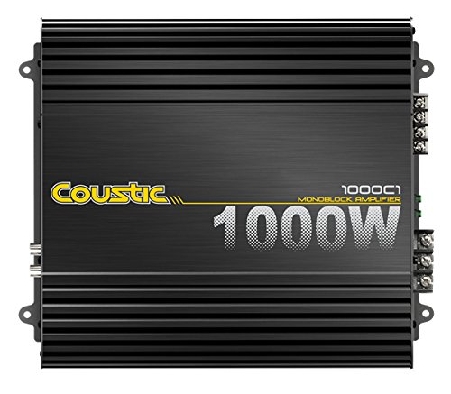 MTX Audio 1000C1 Coustic Car Amplifier (Coustic Amp)