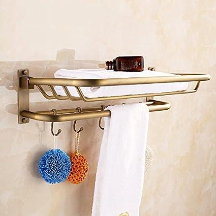 Yomiokla - Accesorios de baño – cocina, inodoro, balcón y baño toalla de metal