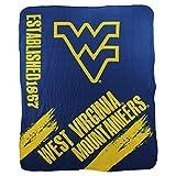 NCAA Collegiate School Logo Fleece Blanket (West Virginia Mountaineers)
