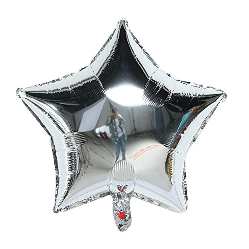 luminum Foil Balloon Cartoon Five-pointed Star Hydrogen Balloon (Aluminum 5 Star)