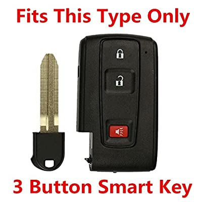 Rpkey Silicone Keyless Entry Remote Control Key Fob Cover Case protector For Toyota 2+1 Button for 2004 2005 2006 2007 2008 2009 Prius MOZB31EG MOZB21TG: Automotive