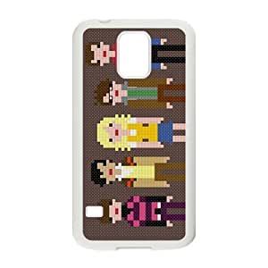 Big Bang Theory warm family Cell Phone Case for Samsung Galaxy S5 Kimberly Kurzendoerfer