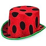 Watermelon Hat - Food Themed Hats - Watermelon Party - Costume Hat - Watermelon Party Hats - Watermelon Costume by Tigerdoe