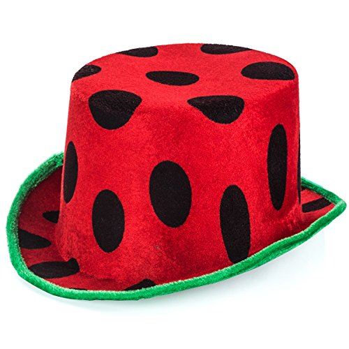 Fruit Hat - Watermelon Party Supplies - Food Costumes - Crazy Hat Day - Novelty Hats - by Tigerdoe -