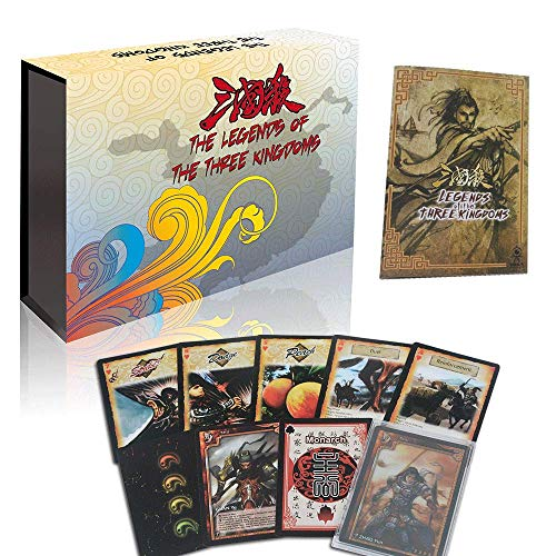 Game Cards of The Legends of The Three Kingdoms, Competitive and Recreational Family Table Card Games (Three Board Kingdoms Game)
