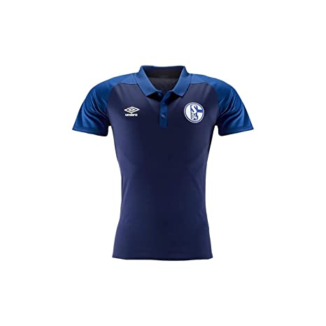 Umbro FC Schalke 04 - Polo de Entrenamiento para Hombre (poliéster ...