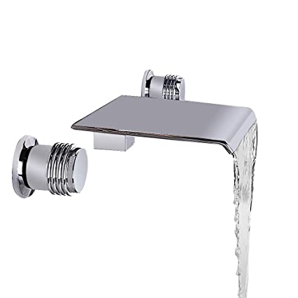 JinYuZe Waterfall Bathroom Vanity Vessel Sink Faucet Solid ...