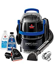 """Bissell 2891B SpotClean Professional Portable Carpet and Upholstery Deep Cleaner with Full-Sized 5.9 Amp, 5Ft Hose with 3"""" Tough Stain Brush, 3-in-1 Stair and Hydro-Rinse self-Cleaning Tools"""