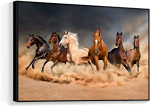 "NWT Framed Canvas Wall Art for Living Room, Bedroom Horse Canvas Prints for Home Decoration Ready to Hanging - 16""x24"" inches"