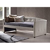 Hillsdale 1061DB Napoli Daybed, 41.75 D x 87 L x 36.25 H, Ivory