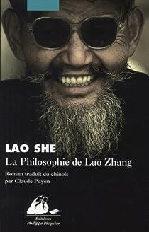 La philosophie de Lao Zhang par She