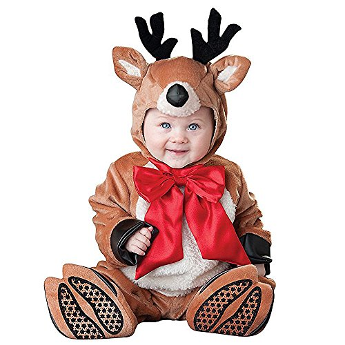 Hug Me Toddler Baby Infant Reindeer Christmas Dress up Outfit Costume]()