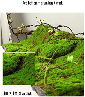人工芝ラグモスマット、グリーンモス装飾品1m×1mサイズ5パック (Size : 1pack)