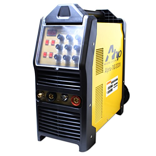 2018 AHP AlphaTIG 200X 200 Amp IGBT AC DC Tig/Stick Welder with PULSE 110v 220v 3 YEARS (Esab Tig Welder)