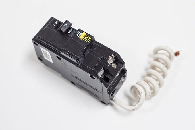 SCHNEIDER ELECTRIC Miniature Circuit Breaker 120/240-Volt 20-Amp QO220GFI Switch Fusible Hd 240V 1200A 3P Nema1