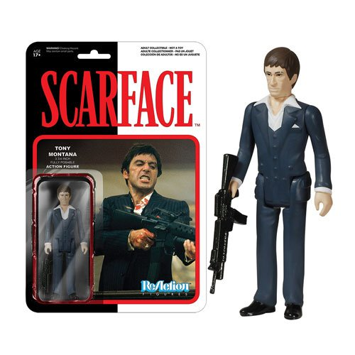 Scarface Tony Montana ReAction 3 3/4-Inch Retro Action Figure