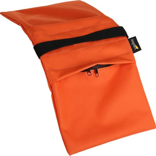 Impact Empty Saddle Sandbag - 15 lb (Orange Cordura)(4 Pack) by Impact